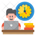 Working Time Employee Time Working Hour Icon