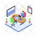 Teamwork Collective Work Working Together Icon