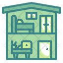 Working Zone Bedroom Office Icon