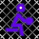 Man Persons Training Icon