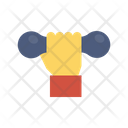Dumbbell Gym Exercise Icon