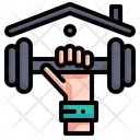 Workout Exercise Wellness Icon