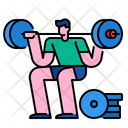Workout Fitness Gym Icon