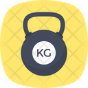 Kg Weight Kettlebell Icon