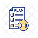 Plan Workout Schedule Icon