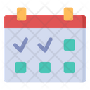 Workout Schedule Exercise Schedule Workout Plan Icon