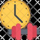 Workout Time Gym Time Time Icon
