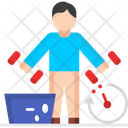 Workout Time Workout Fitness Icon