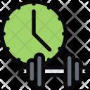 Workout Time Athlete Icon
