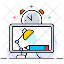 Workplace Office Desk Workspace Icon