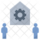 Workplace Office Factory Icon