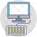 Workplace Computer Desktop Icon