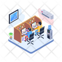 Office Job Office Work Workplace Icon