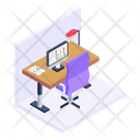 Office Workplace Workspace Icon
