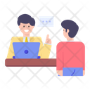 Workplace Discussion Icon