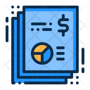 Business Page Paper Icon