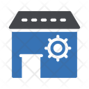 Workshop Store Gears Icon