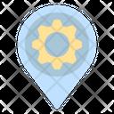 Workshop Garage Pin Icon