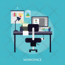 Workspace Computer Technology Icon