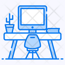 Workspace Office Workplace Icon