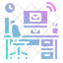 Workspace Desktop Desk Icon