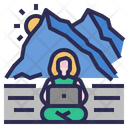 Workspace Freelance Digitalnomad Icon