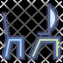 Desktop Chair Office Icon