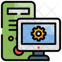 Computer Workplace Workstation Icon