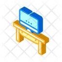 Coworking Workspace Table Icon