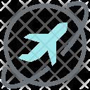 World Tour Plane Icon