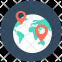 World Location Pin Icon