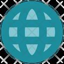Interface World Globe Icon