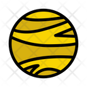 World Planet Space Icon