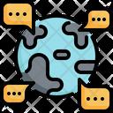 World Global Communication Icon
