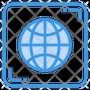 World Global Worldwide Icon