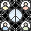 World Peace No War Icon