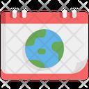 World Global Earth Icon