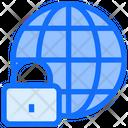 World Global Lock Icon