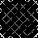 World X Map Icon