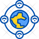 World Internet Global Icon