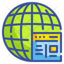 World Browser Seo Icon