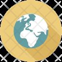 Circular World Global Icon