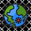 Global Virus Overall Virus World Icon