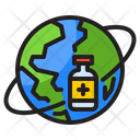 Overall Vaccination Global Vaccine World Icon