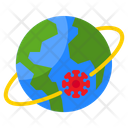 Global Virus Icon