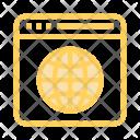 World Globe Browser Icon