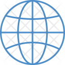 World Globe Map Icon