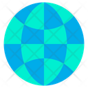 Earth World Map Global Icon