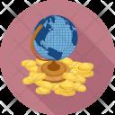 World Economy Cash Icon