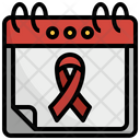 World Aids Day Health World Aids Day Shapes And Symbols Awareness Icon